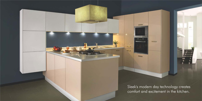 Sleek Modular Kitchen 2